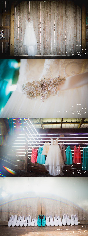 Pine Ridge Plantation Port Saint Lucie okeechobee wedding shabby chic dyi barn wedding teal coral miles crystal cardenas 1.jpg