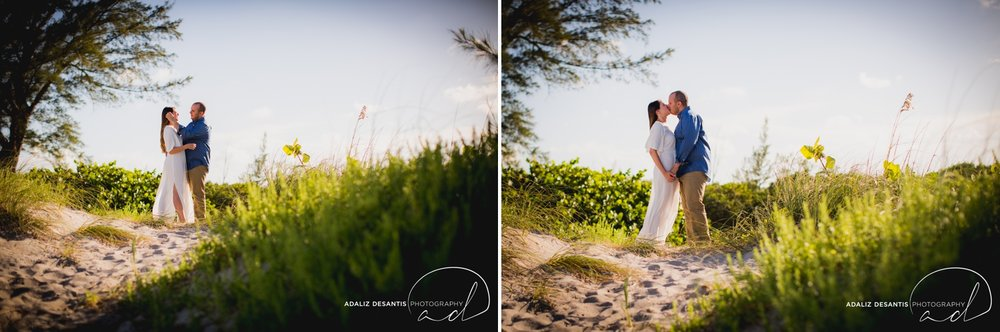 Gaby Aaron Engagement Session South Florida Dania Beach PIer Summer Love Destination Engaged 2.jpg