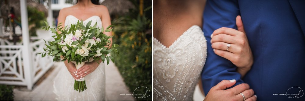 Carmen Alex palms hotel spa miami beach destination wedding lavender roses cuban cigar England cuba bride rose gold elegant Maggie Sottero Badgley Mischka 9.jpg