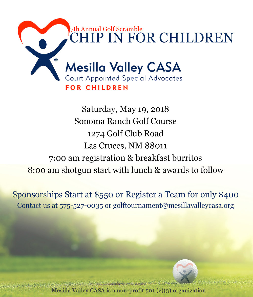 2018 Golf Scramble — Mesilla Valley CASA