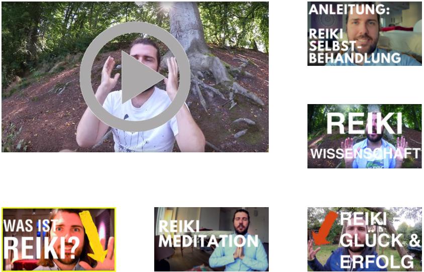 Mehr als 7 Videos zum Reiki lernen und verstehen