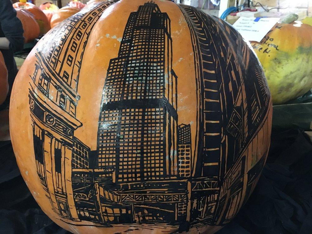 Chicago Skyline - RISE of the Jack O'Lanterns
