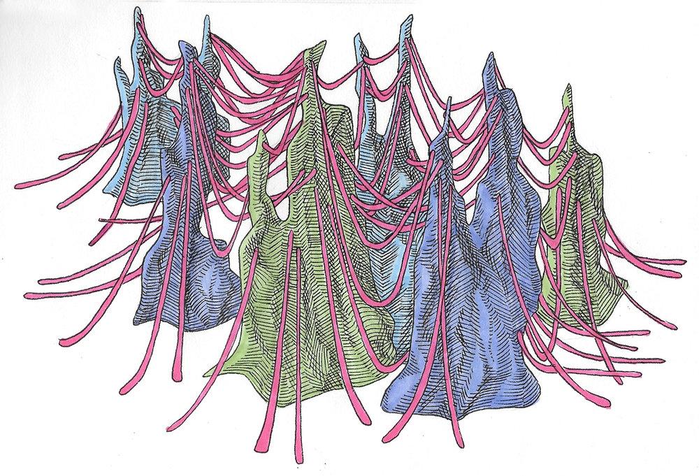 Faber-Castell PITT artist pen & Prismacolor markers