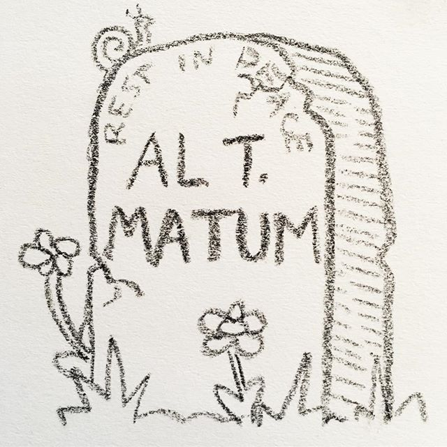 I've been looking thru old sketchbooks with @soy_sauce_queen today and found this friend. 🐌 Should I make a gravestone zine? 🤔⚰️❔ • • • #death #doodle #drawing #grave #gravestone #graveyard #macabre #sketch #sketchbook #tombstone