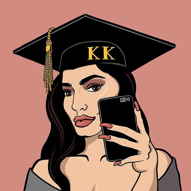 I'm so excited to announce my kollaboration with @kardashian_kolloquium! 🎓🤳🏻💕 When I first found this account, it was so uniquely aligned with my interests I thought I might be secretly running it in Tyler Durden-esque social media fugue state. To go from a fan to kontributing their logo is truly a dream kome true! 🤩 Thank you @mjcorey for this opportunity. I kan't wait to keep Keeping Up! 🔜👯♀️📺