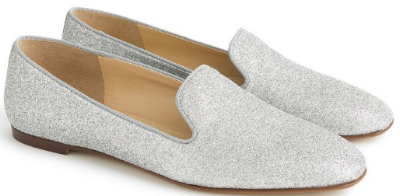 J. Crew smoking slipper  --> ummmm what CAN'T you wear these with?! Versatility, helloooooooo!