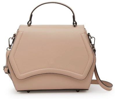 "This  Renata Corsi bag  ""go-to bag"" if you want to add a chic, fashion-forward vibe."