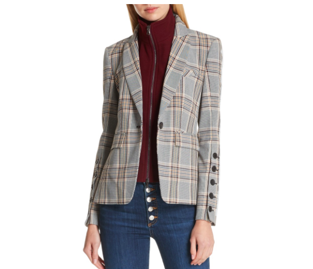 Can you get any chicer or timeless?! This  Veronica Beard  blazer is perfect with a simple pair of jeans a Tee.