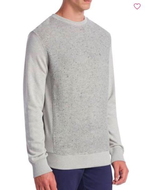 Madison Supply: Mixed Media Sweater