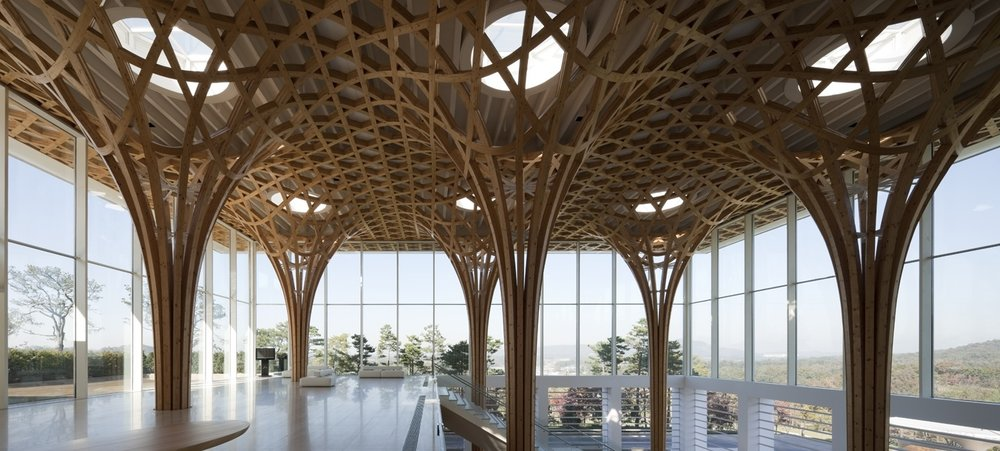 Shigeru Ban -   Nine Bridges Country Club