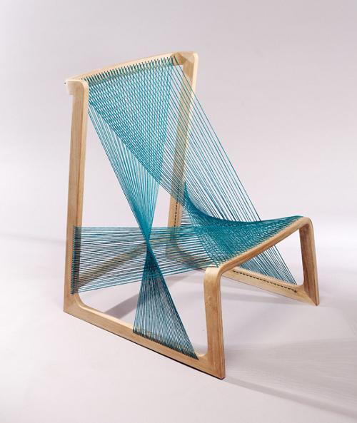 Asa Karner -   Silk Chair
