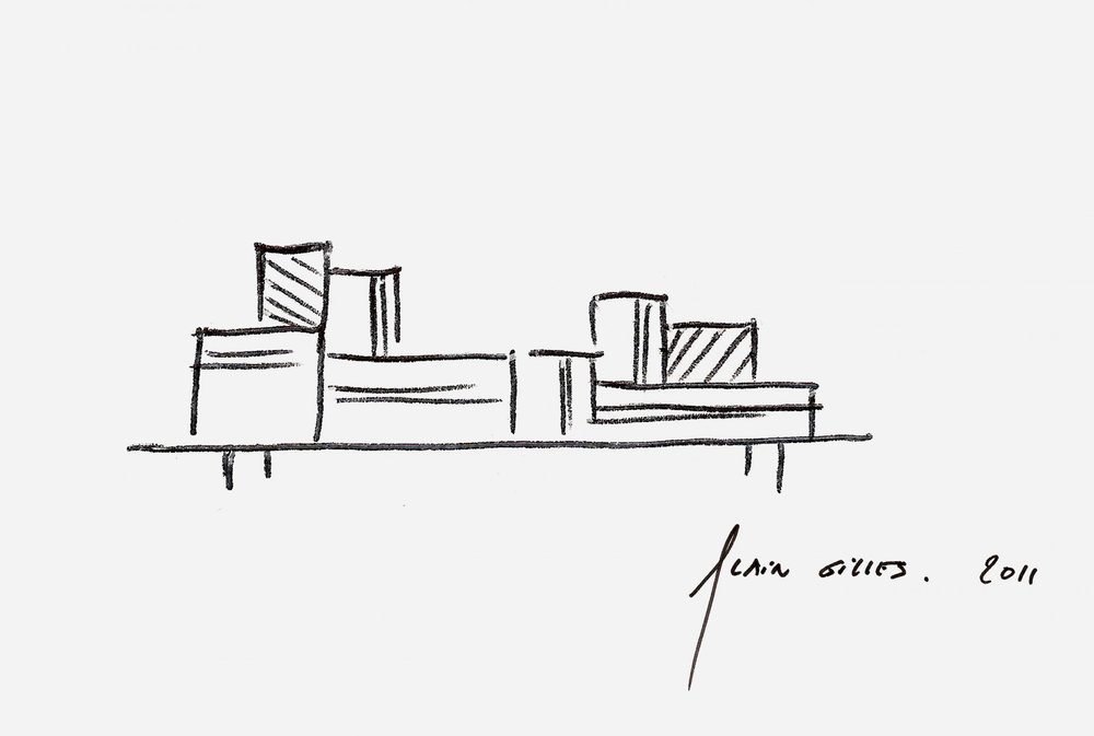 Alain Gilles THE STUDIO