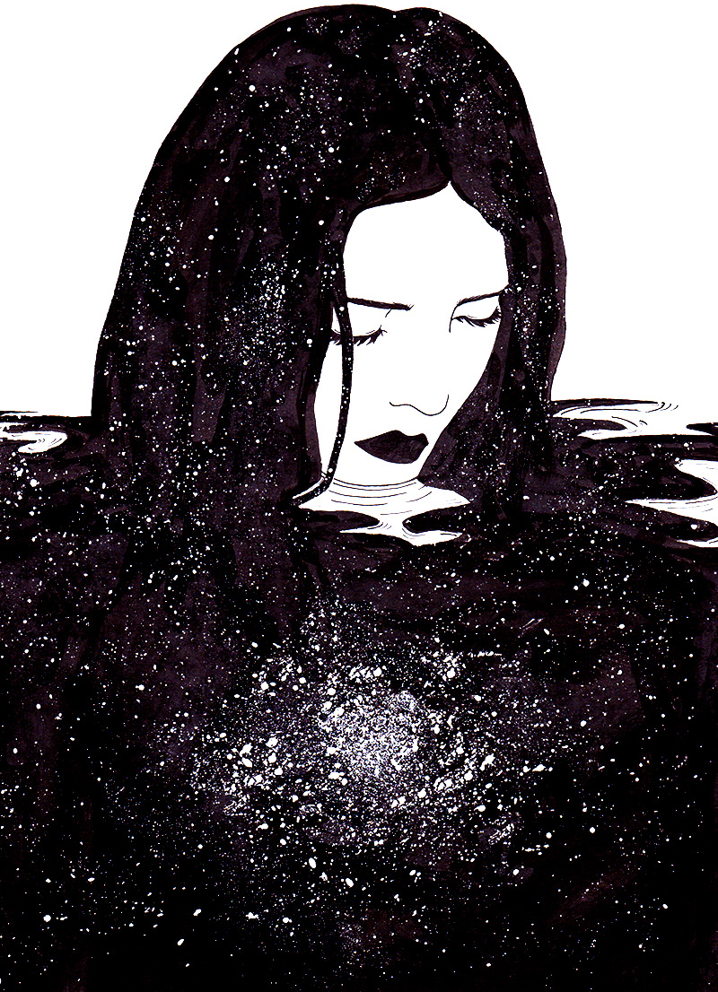 Drowning in the universe