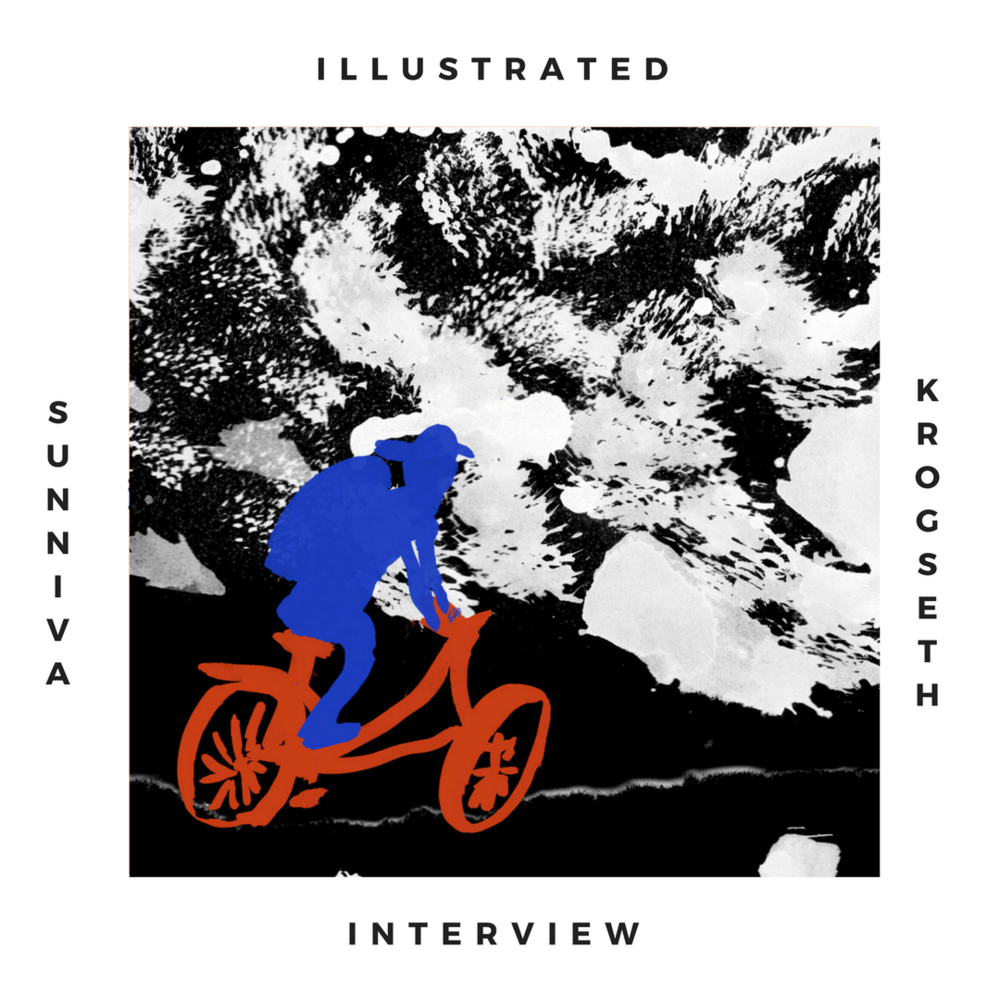 Illustrated interview : Sunniva Krogseth    Holiday memories, vibrant colors and bicycles : let's dive into Sunniva's gorgeous world.
