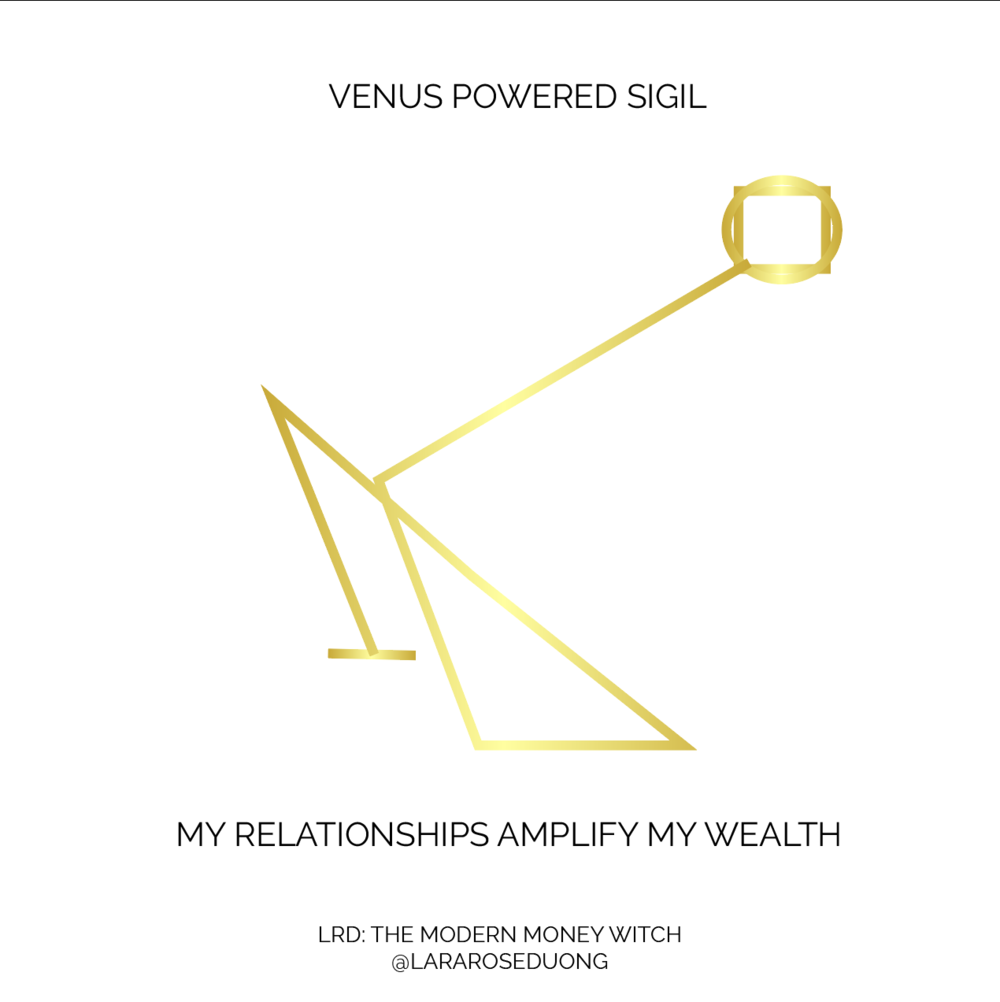 MY RELATIONSHIPS AMPLIFY MY WEALTH SIGIL