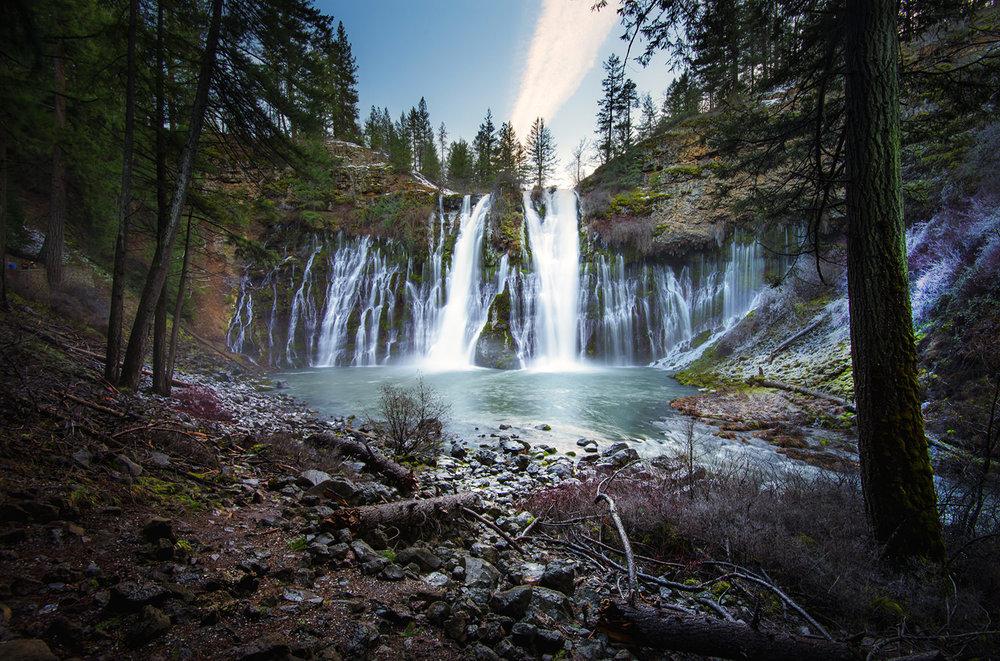 Hike Burney Falls