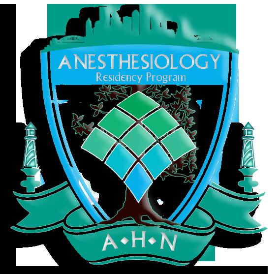 AHN Anesthesia — Residency