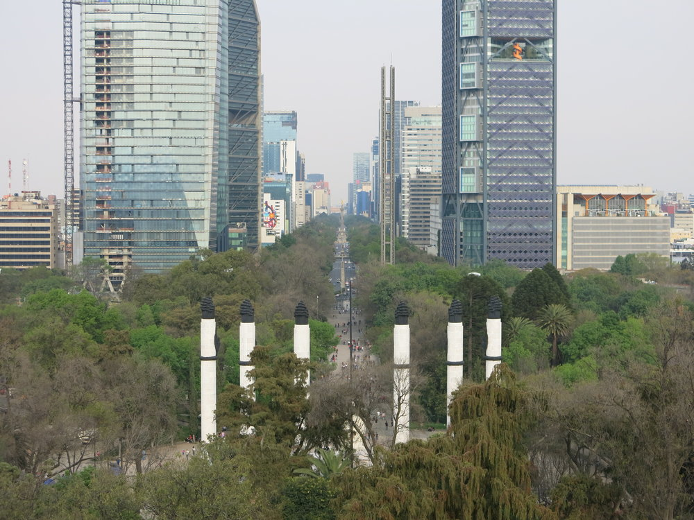 Reforma Street Mexico City