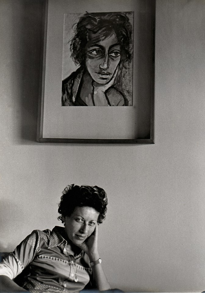 Antonio Hasbun Z.    Janine Janowski , c. 1970  fotografía