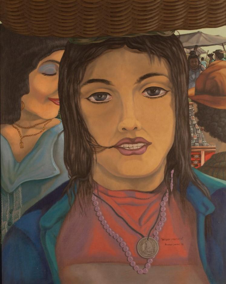 Armando Campos    Antigua fantasia , 1992  Acrílico