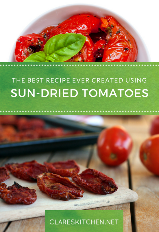 The Best Recipe ever created using Sun-Dried Tomatoes