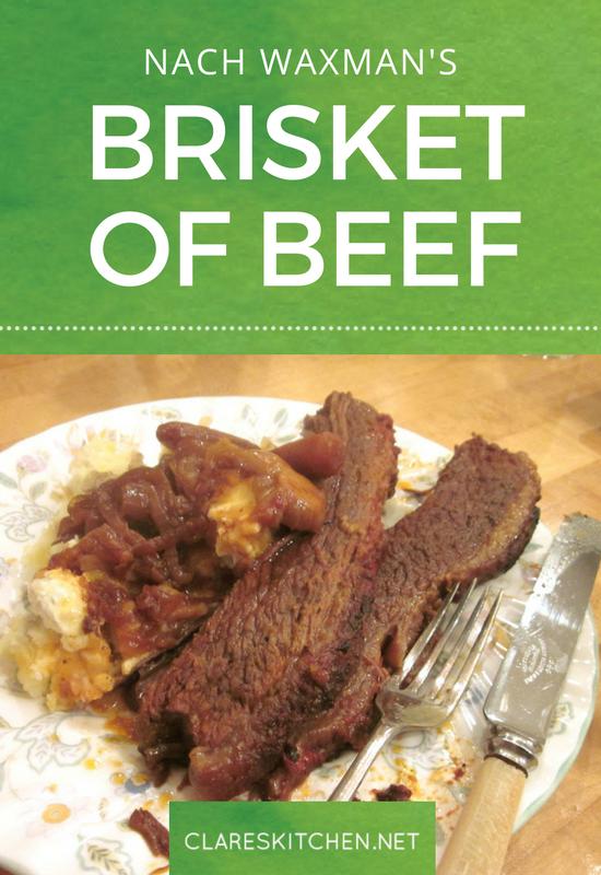Nax Waxman's Brisket of Beef
