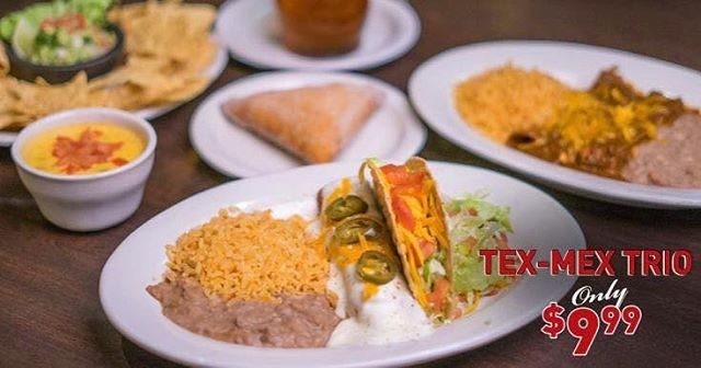 We're celebrating our 100th anniversary with what we do best, serving the Original Tex-Mex!  For a limited time only, try our Tex-Mex Trio, a 3 Course Fiesta for 1, all for just $9.99! Learn more: ElFenix.com/Limited-Time Now available at all locations, dine-in or take home! #ElFenix