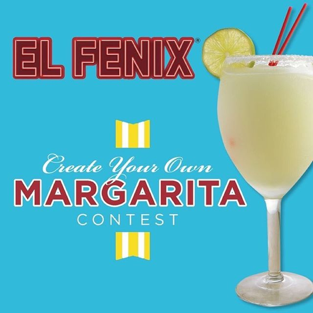 Only a couple days left to enter our Create Your Own Margarita contest!  Submit your Best Margarita recipe using Hornitos Tequila to us by 2/14/18 for your chance to win FREE El Fenix for a year and a possible feature on our menu: ElFenix.com/Enter  Use #ElFenix and share your photos!