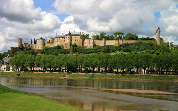 Chateau de Chinon  in the Loire Valley - we are staying very close by in  Beaumont-en-Véron