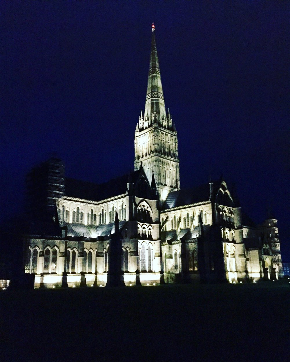 Salisbury Cathedral Christmas Eve