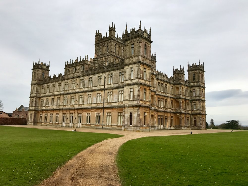 Downton Abbey....or Highclere Castle