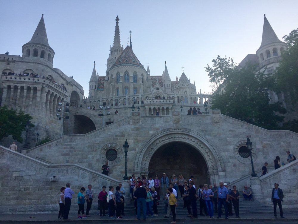 Fisherman's Bastion from below
