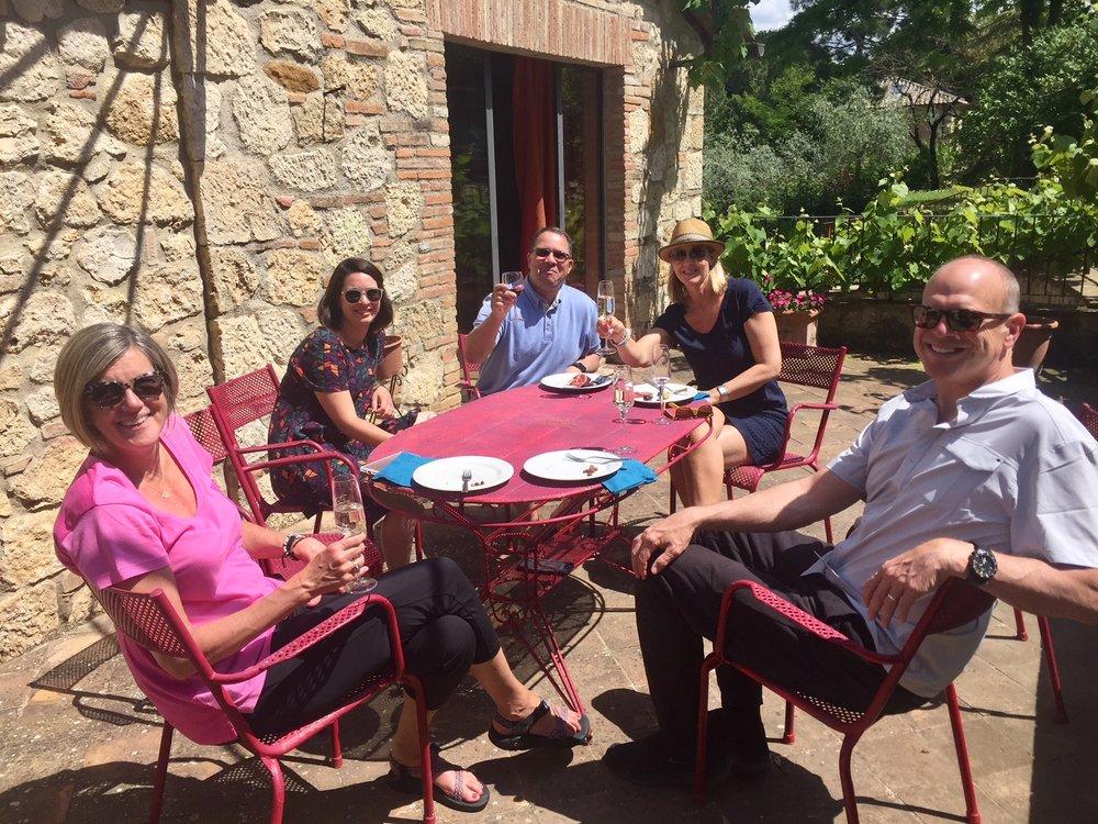 Relaxing at   Villa Ardene