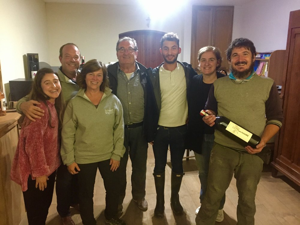 Our wine tasting at Az. Ag. Ribote - Bruno Porro, producers of beautiful Dogliani and Barolo wines
