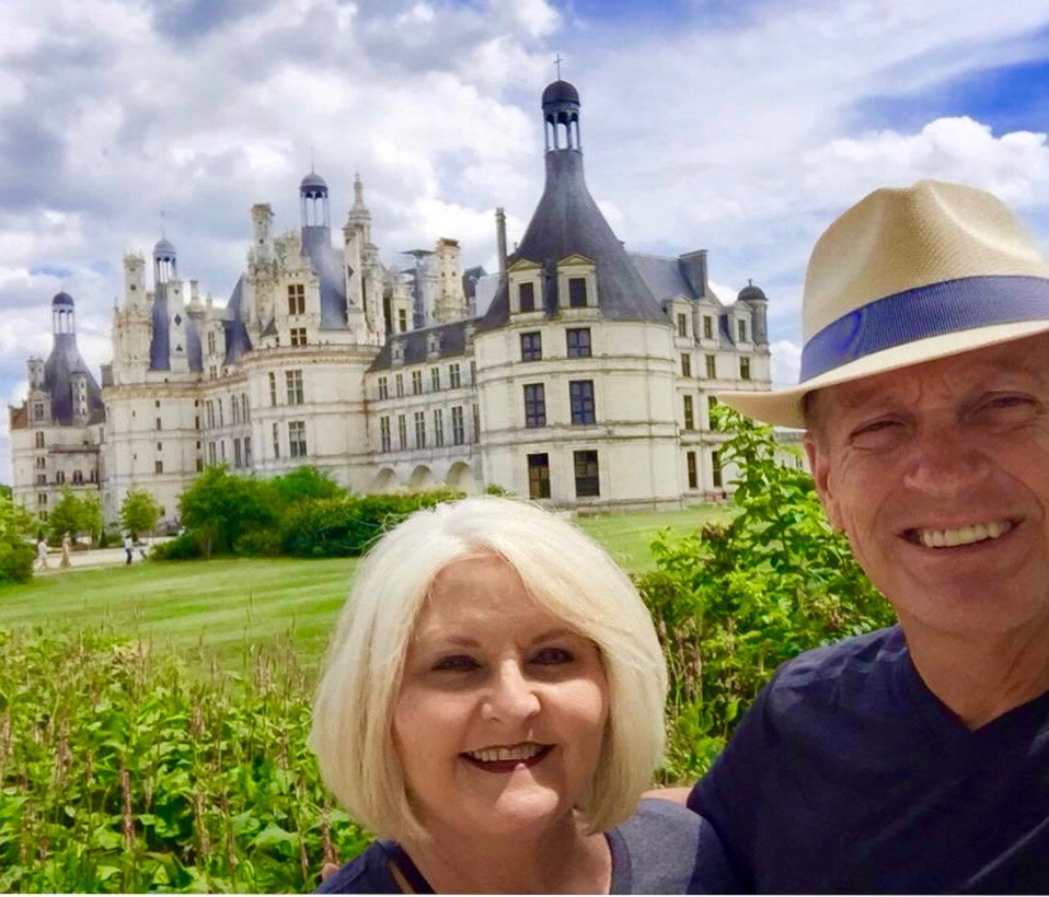 Chateau de Chambord in the Loire Valley, France. Wine, castles, and great food make the Loire a special place to visit.