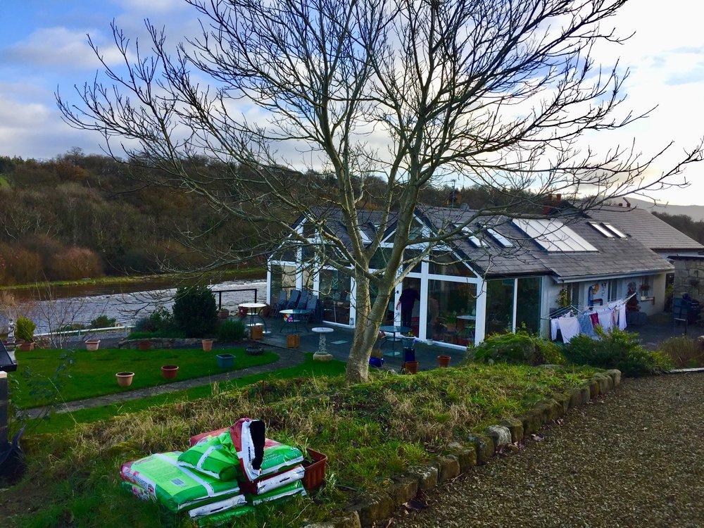 Our new   Workaway   home near Kilkenny, Ireland