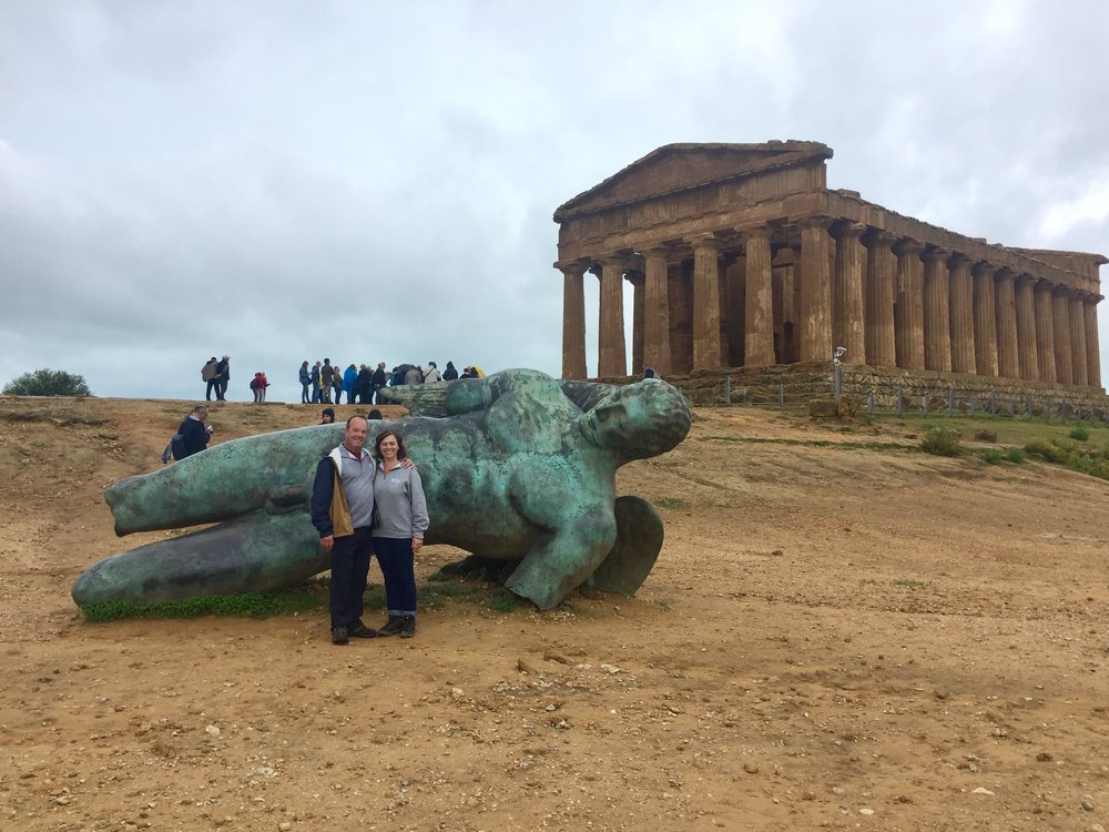 Exploring the Valley of the Temples in Agrigento, Sicily