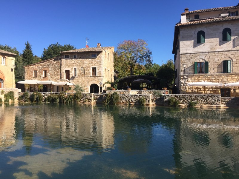 Beautiful Bagno Vignoni