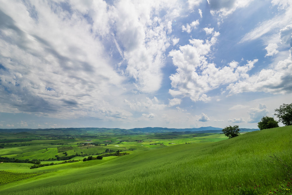 The beautiful countryside of Tuscany