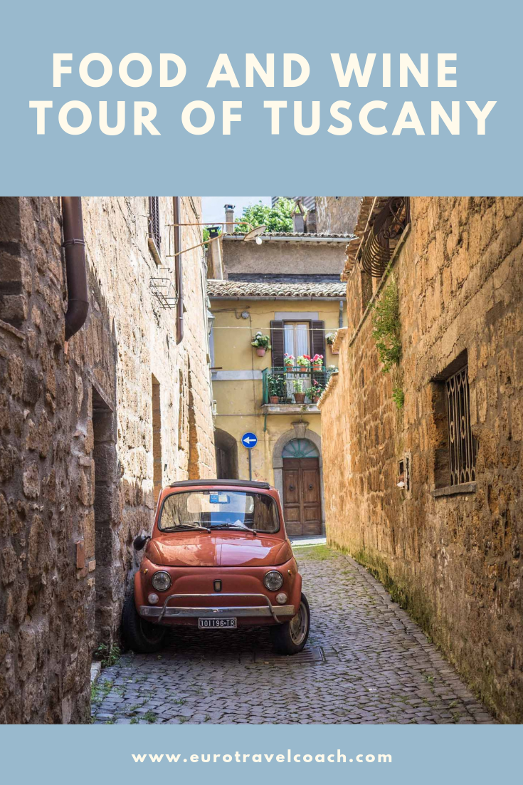 One week food and wine tour of Tuscany | May 11-18