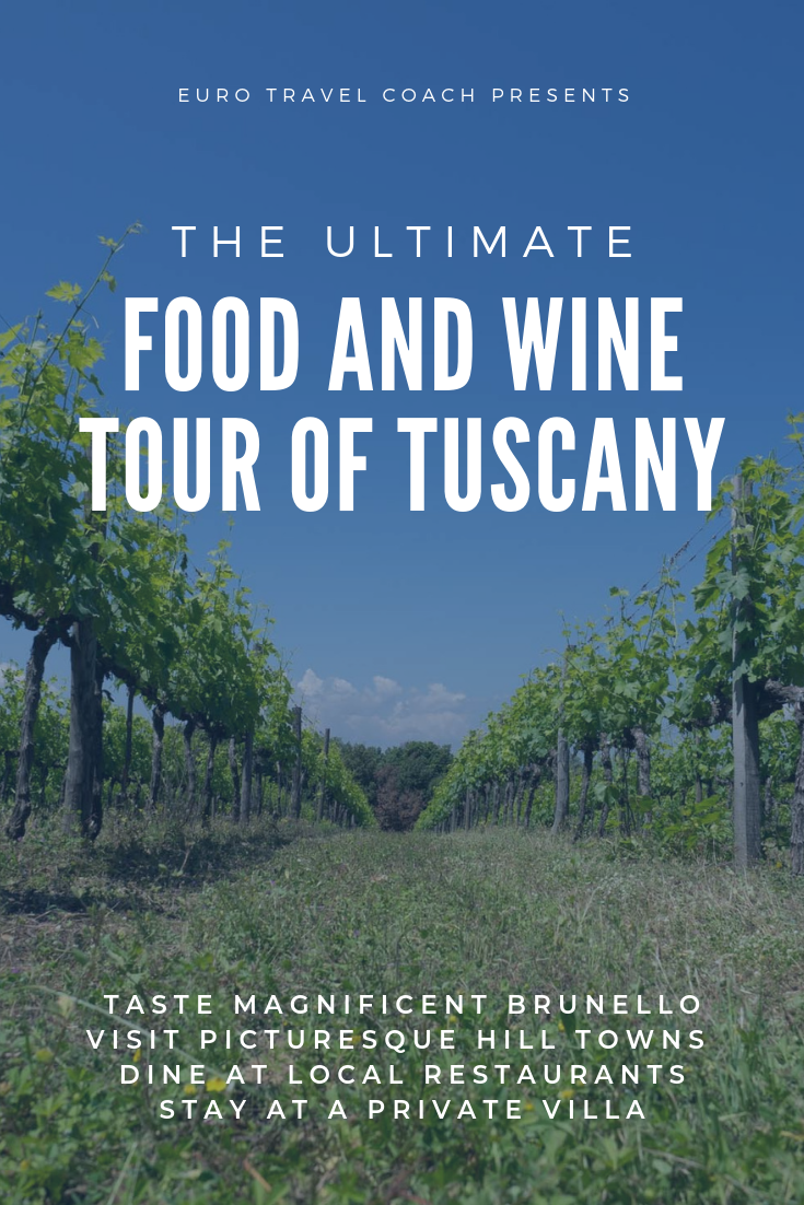 The ultimate food and wine tour of Tuscany with Euro Travel Coach | May 11-18