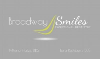 At Broadway Smiles we are dedicated to helping you make a better impression with a beautiful new smile. Your smile is often your most eye-catching feature. Even a subtle change can make a big difference in the way you look and feel. Our practice focuses on your overall dental needs, from keeping your gums healthy to creating a whole new smile. We will listen to your personal concerns, and together we will arrive at a solution. We want to make you feel empowered about your dental concerns. You will make informed decisions about your dental care and feel confident with your results.