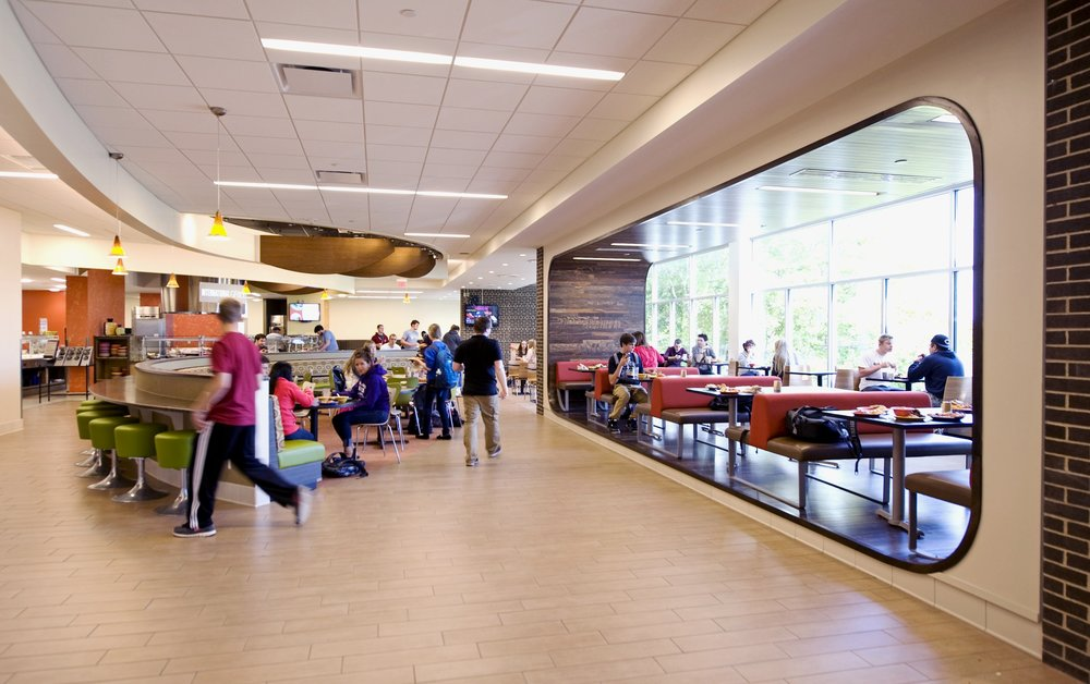 University of Wisconsin – Whitewater Drumlin Dining Hall