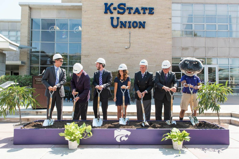 K-State Student Union Renovation Breaks Ground