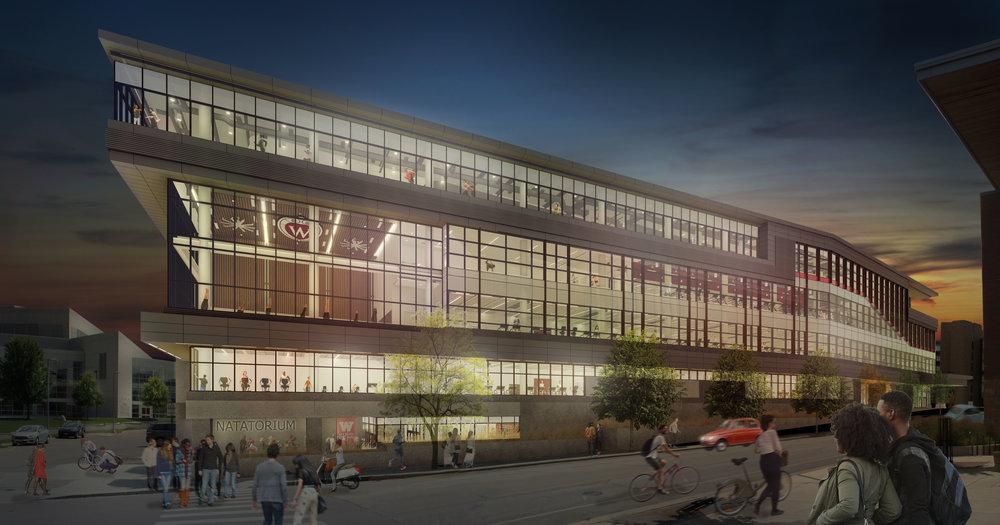 University of Wisconsin – Madison New Rec Sports Facility