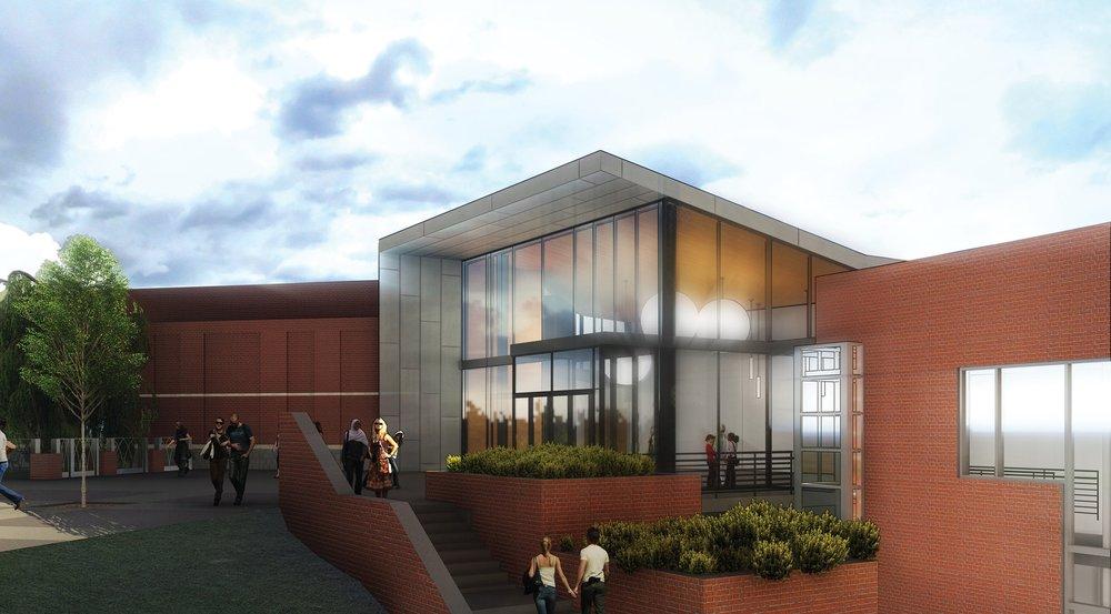 University of North Carolina at Asheville Highsmith Union