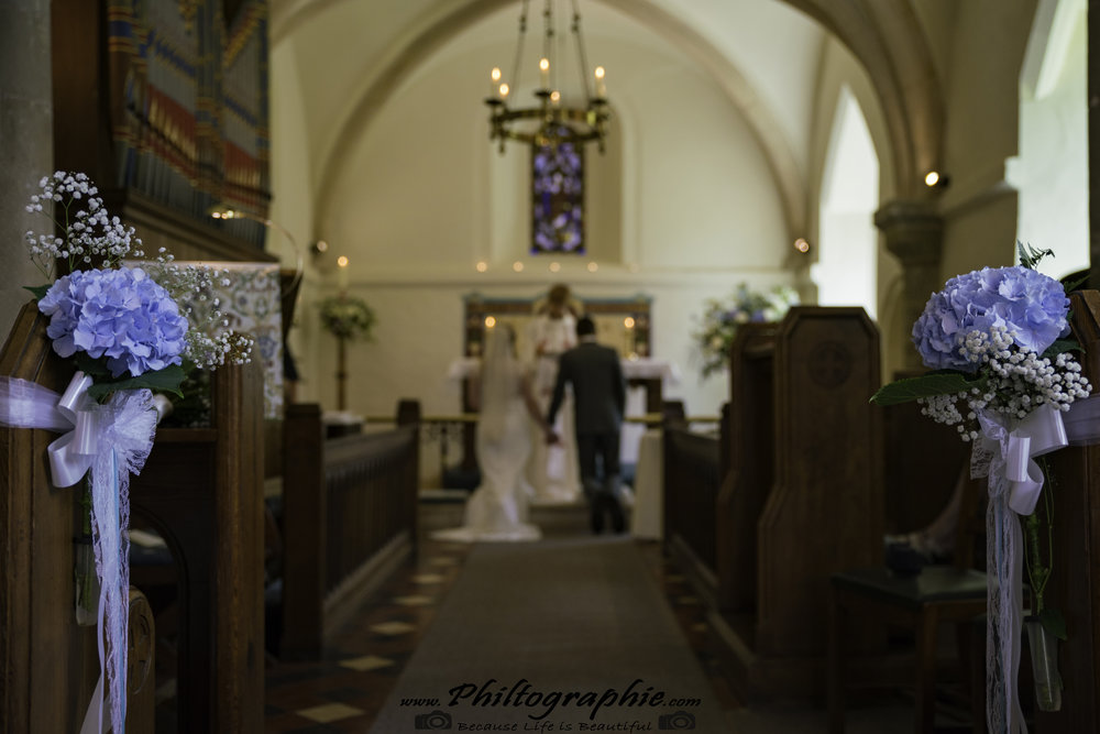 Sarah and Jordan at St Mary the Virgin, Rudford - Gloucestershire