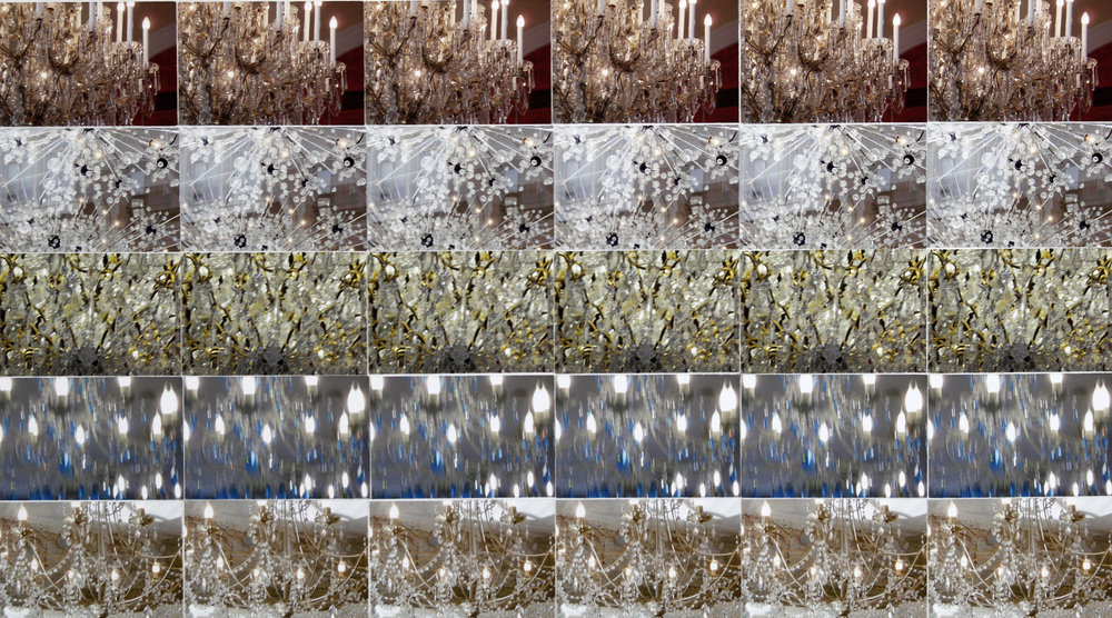 Tara Fracalossi,  Archive (five from chandeliers) , 2017