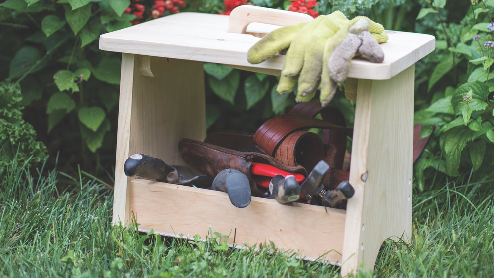 Garden Stool/Toolbox
