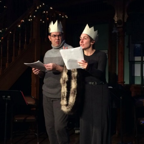 Scene from  Northern Lights, Hudson Valley Shakespeare Festival (2015)